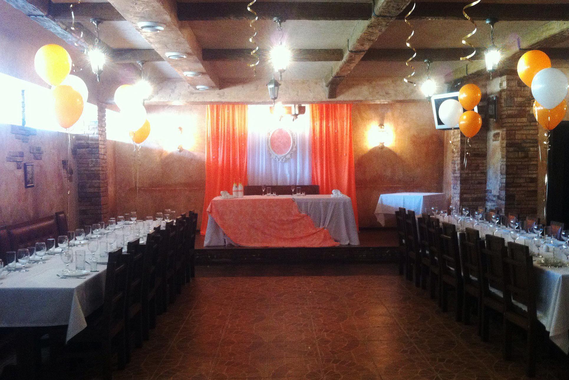 Большой зал для свадьбы